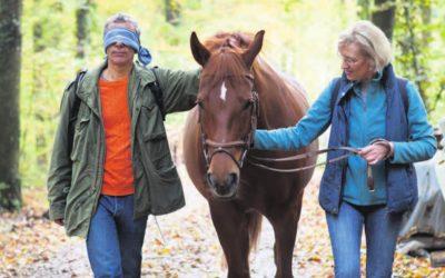 Mit Pferden aus der Burn-out-Falle. Christine Odette Meier lehrt Menschen, die Zügel des Lebens wieder in die Hand zu nehmen