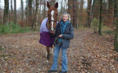 Burnout-Beraterin Christine Odette Meier unterstützt Betroffene mit einer Pferdestärke und reintegriert sie am Arbeitsplatz