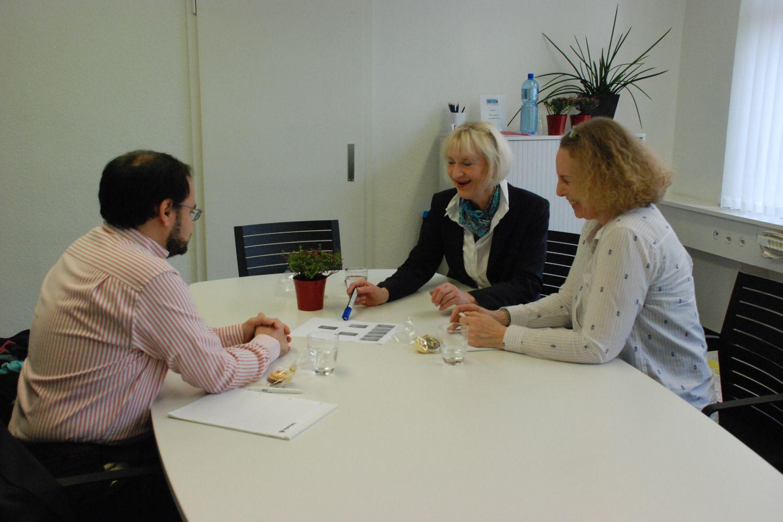 Reboarding Beratung mit Kunden