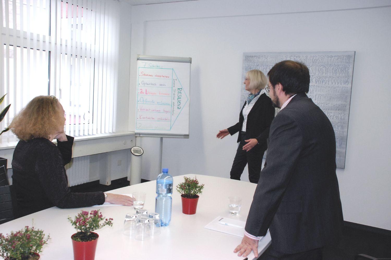 Resilienz Coaching mit Kunden